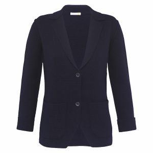 LONDON W11 knitted cashmere jacket, navy, GBP 335 copy