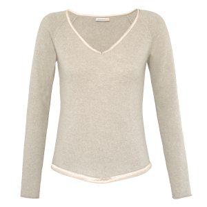 LONDONW11 Cashmere Sweater Loungewear, beige GBP 210 copy
