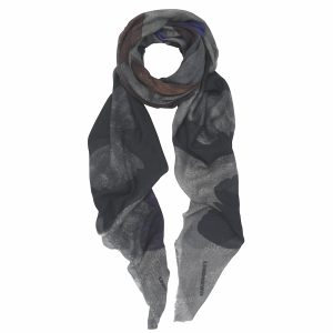 London W11 printed cashmere scarf Flutterby design GBP 115,-- copy