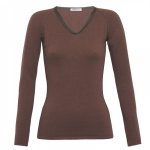 cashmere-v-neck-sweater-with-leather-detail-in-brown-londonw11