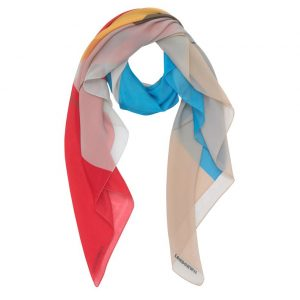 London W11 cashmere Scarf Retro