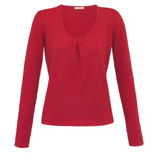London W11 cashmere sweater red 4