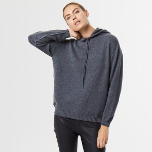 Cashmere hoody grey 4