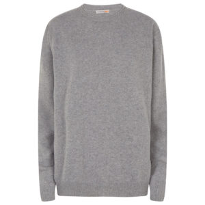 Men crew neck grey 0