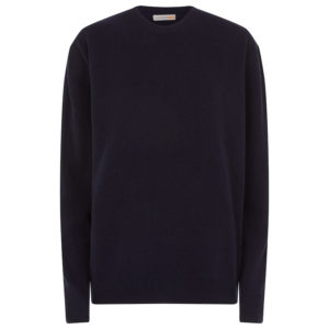 Men crew neck navy 0