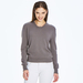 2 ply 100%c Italian cashmere sweater with fringe detail