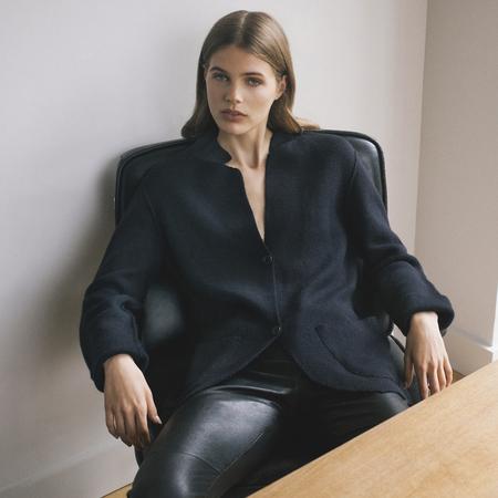 London Jacket made of 100% Italian cashmere