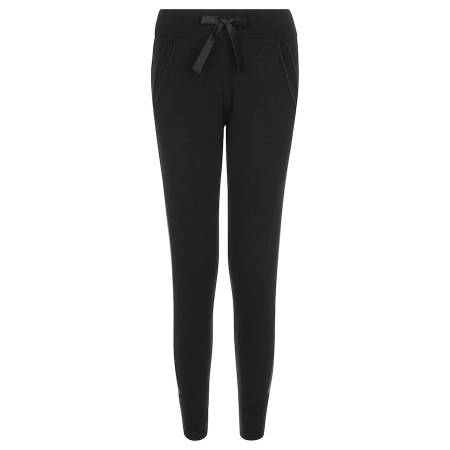 Fine 100% Italian Cashmere Track Trousers with silk detail