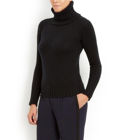 Chunky 12 ply Italian Cashmere Polo Neck sweater