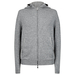Cardigan Hoody silk grey copy