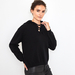 Hooded cashmere sweater made of 4 ply 100% Italian cashmere