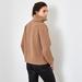 Chunky Rib Cashmere sweater caramel 3