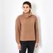 Chunky Rib Cashmere sweater beige 2