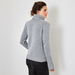 Chunky Polo Neck cashmere sweater 4