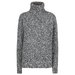 Chunky Boucle mock neck saltpepper copy