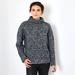 Italian chunky Boucle cashmere sweater