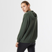 Cashmere hoody green 6