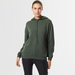 Cashmere hoody green 2