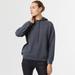 Cashmere hoody grey 1