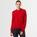 Chunky cashmere crew neck red 2