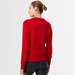 Chunky cashmere crew neck red 4