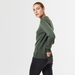 Chunky cashmere crew neck green 5