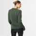 Chunky cashmere crew neck green 6