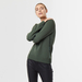 Chunky cashmere crew neck green 3