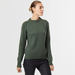 Chunky cashmere crew neck green 2