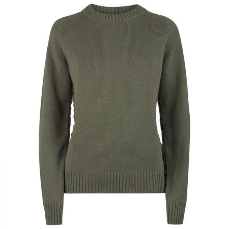 Sweater made of chunky sustainable Scottish cashmere yarn