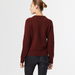 Chunky cashmere crew neck brown 4