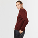 Chunky cashmere crew neck brown 3