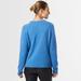 Chunky cashmere crew neck blue 6