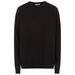 Men black crew neck 0