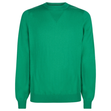 Men's Hockney Green Scottish Cashmere Jumper