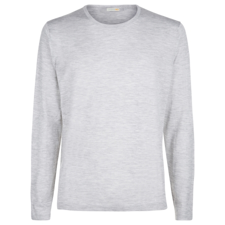 Men's Grey Superfine Cashmere Sweater