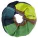 London W11 Cashmere scarf multi color green 0