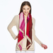 Sonia Rich Reds Cashmere Scarf